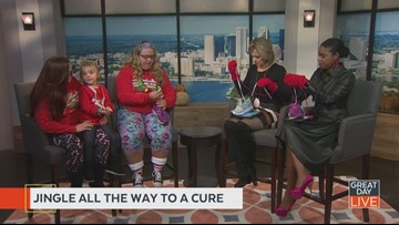 Jingle all the way to a cure