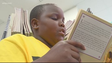 School mentorship program pairs students together to improve reading comprehension