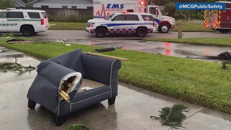 NWS confirms 2 tornadoes hit the Tampa Bay area over the weekend