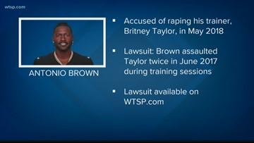 NFL star Antonio Brown's former trainer accuses him of rape   10News WTSP