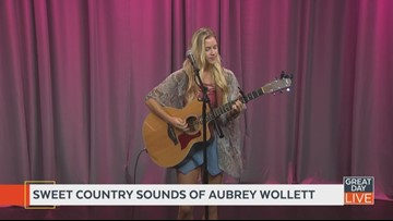 The sweet songs of Aubrey Wollett