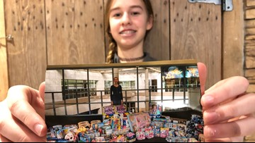 Former Shriners patient buys $1,500 in gifts for hospital kids