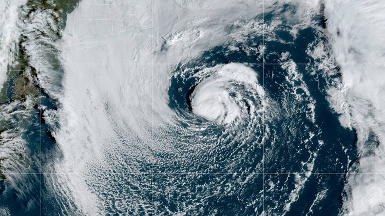 Tropical Storm Melissa forms off Northeast coast