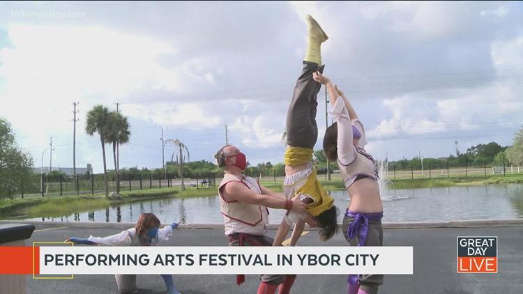 Performing arts fest this week in Ybor City