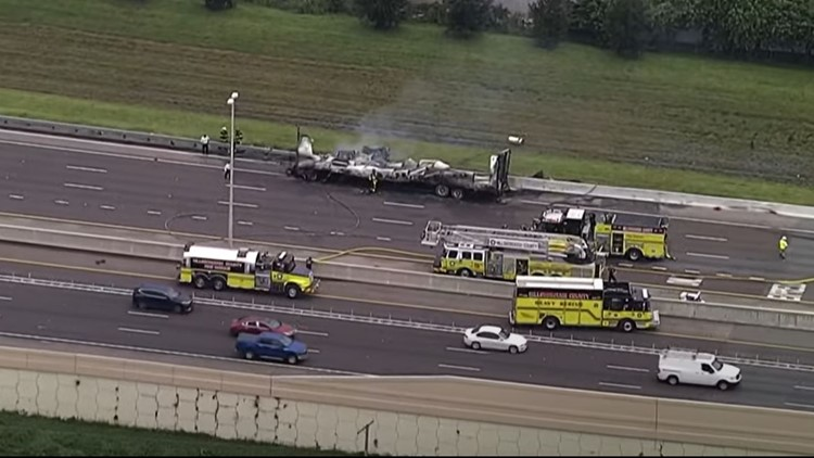 Deadly crash involving tractor-trailer shuts down part of Veterans Expressway