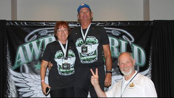 Powerlifting couple sets world-records together