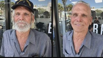 St. Pete veteran fulfills promise by walking unassisted into barbershop