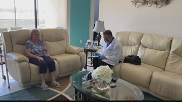 Manatee County doctor makes house calls to ease anxiety during coronavirus pandemic