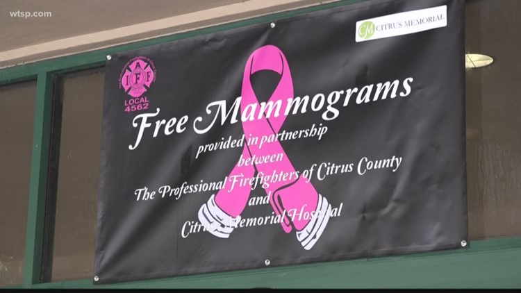 Citrus County firefighters helping fight breast cancer
