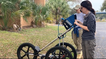 'It's very important to do this': Archaeologists scan old Pinellas Co. school for graves from black cemetery