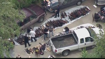 Wow Moments: More than 1,000 weapons seized in California