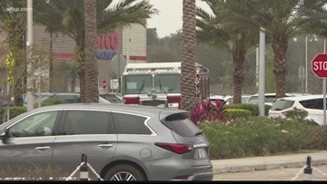 Pasco County deputies respond to robbery at Tampa Premium Outlets
