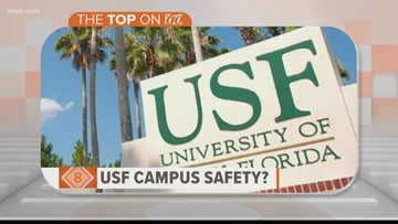 USF ranked as most unsafe college campus in Florida, study