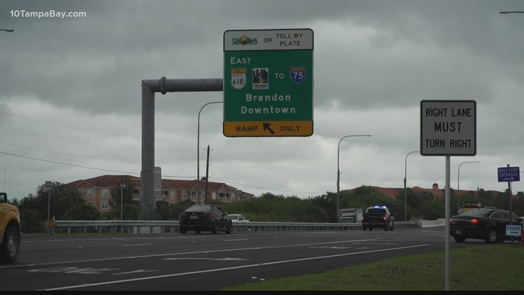 Selmon Extension opens to traffic after 2.5 years of construction