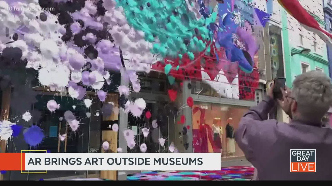 Snapchat bringing art outside museums through augmented reality