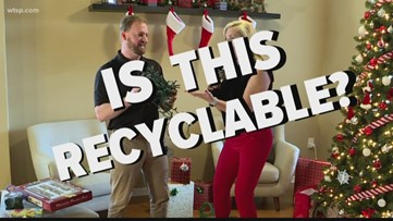 Holiday recycling: Is it recyclable?