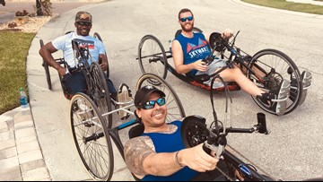 Veterans will lead off Skyway 10K in hand cycles