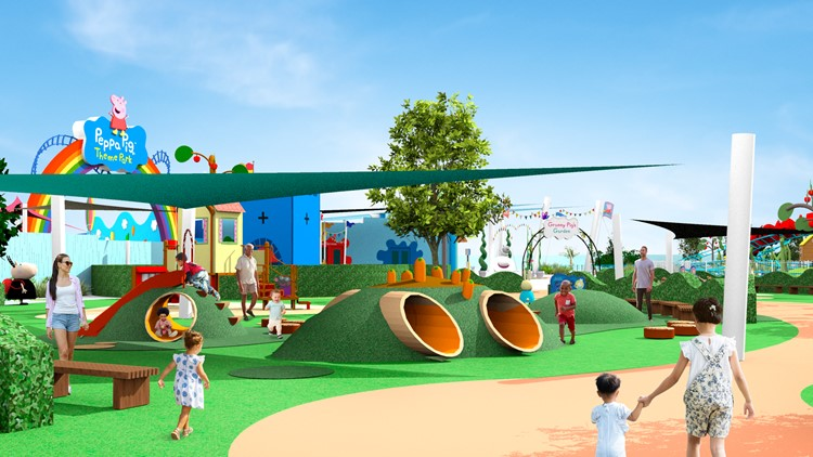 Here's a look at the Peppa Pig theme park coming to Florida