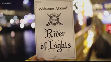 River of lights holiday cruises
