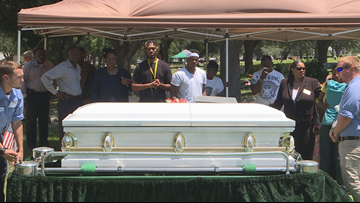 Remains of Jabez Spann laid to rest