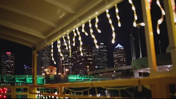 River of Lights is back in Tampa for the holiday season