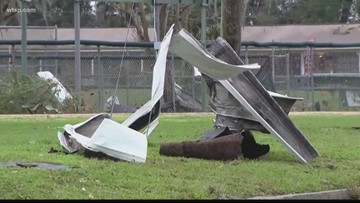 2 possible tornadoes leave damage across central Florida