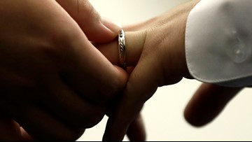 Group marriage ceremonies, vow renewals set for Valentine's Day