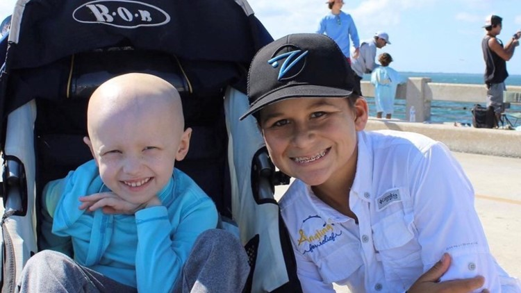 Tampa non-profit helps families overcome grief by going fishing