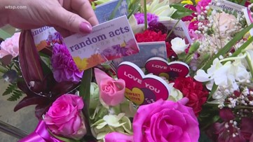 More than 100 bouquets of flowers delivered to nursing home residents