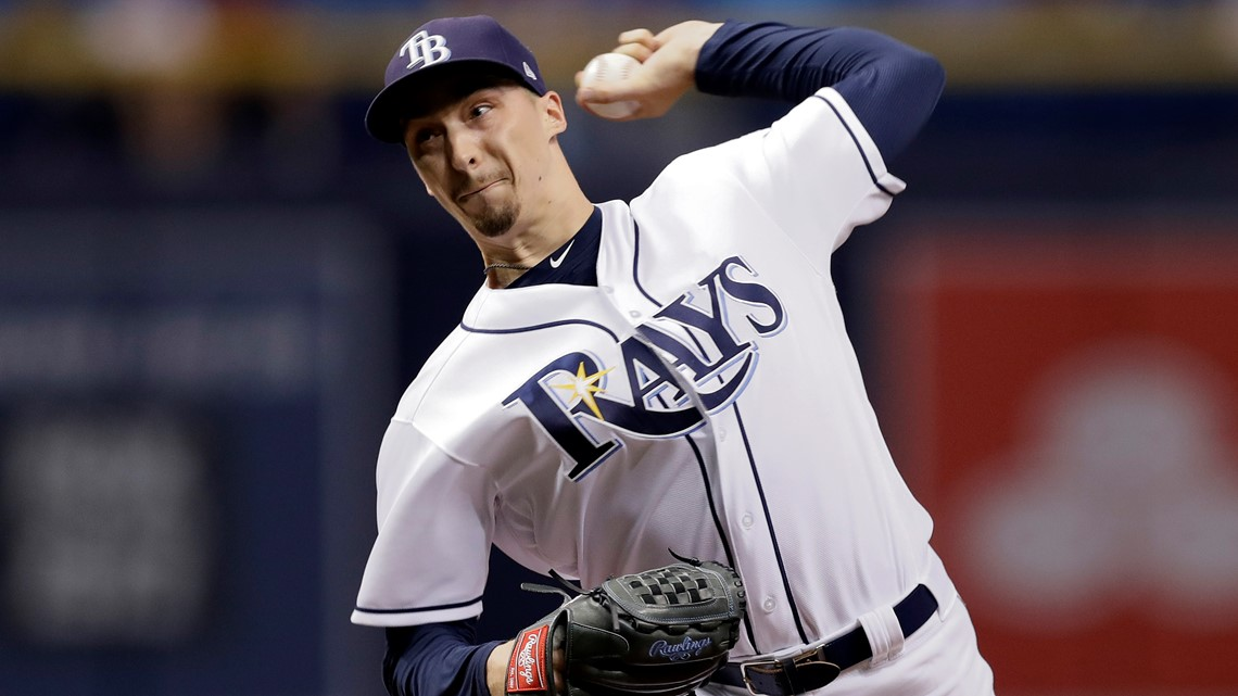 Rays put Cy Young winner Blake Snell on injured list with fractured toe