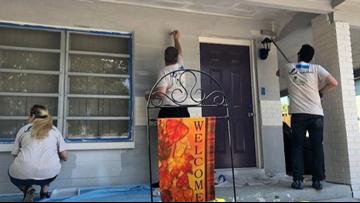 Building healthier neighborhoods, Tampa Bay Lightning help repair homes