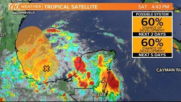 National Hurricane Center monitoring tropical disturbance near the Gulf