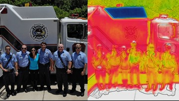 Drones taking firefighter security to the next level