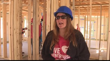 Family puts in sweat equity to build home with Habitat for Humanity