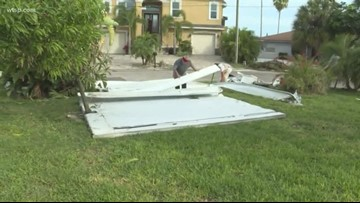 After EF-0 tornado hits Madeira Beach, clean up continues | 10News WTSP