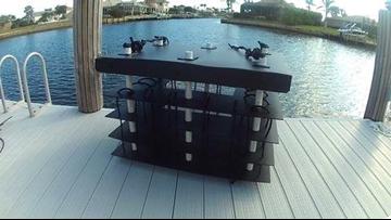 Mini artificial reefs help filter waterways
