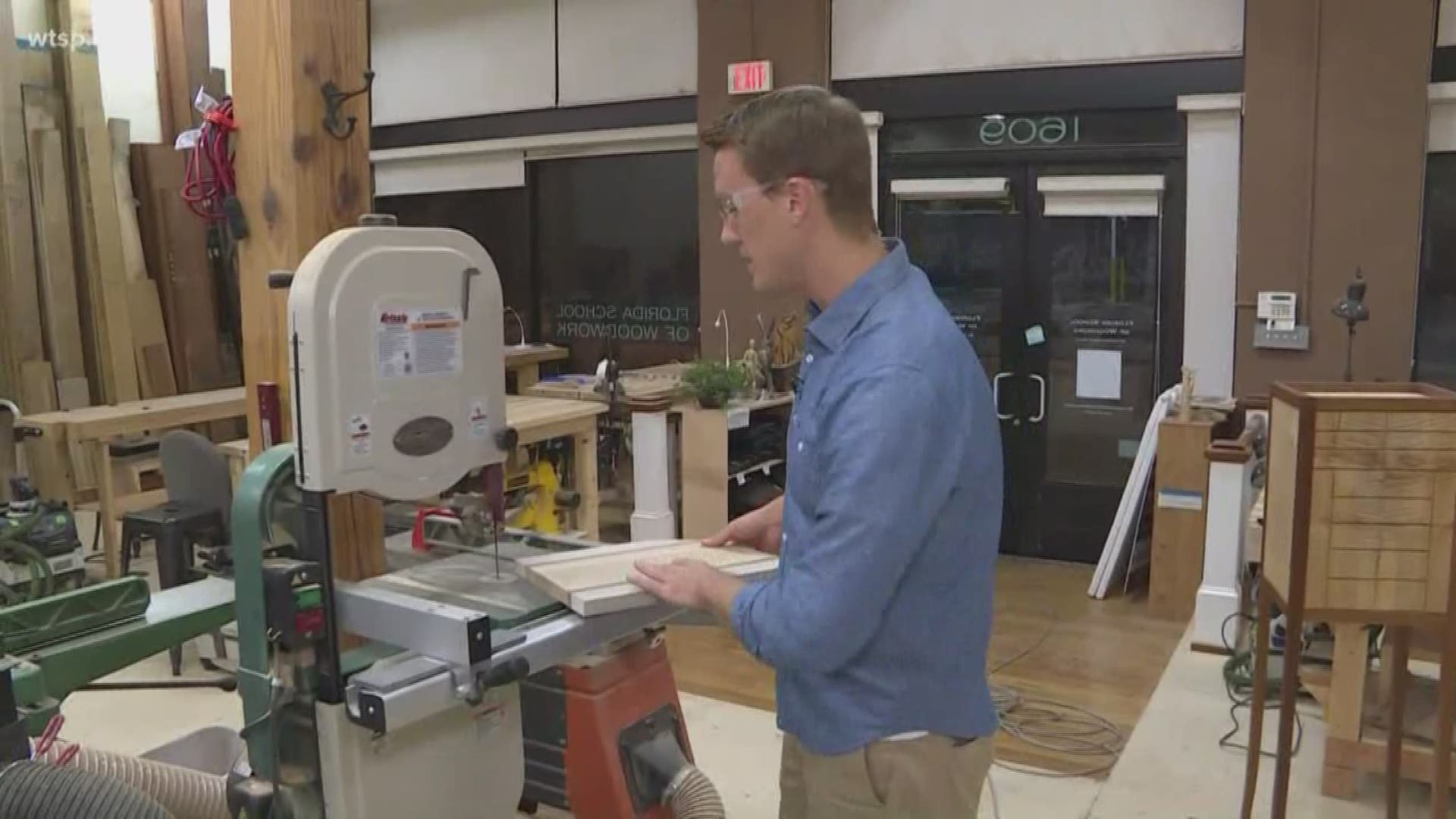 Tampa School Teaches The Art Of Woodworking To Adults Wtsp Com