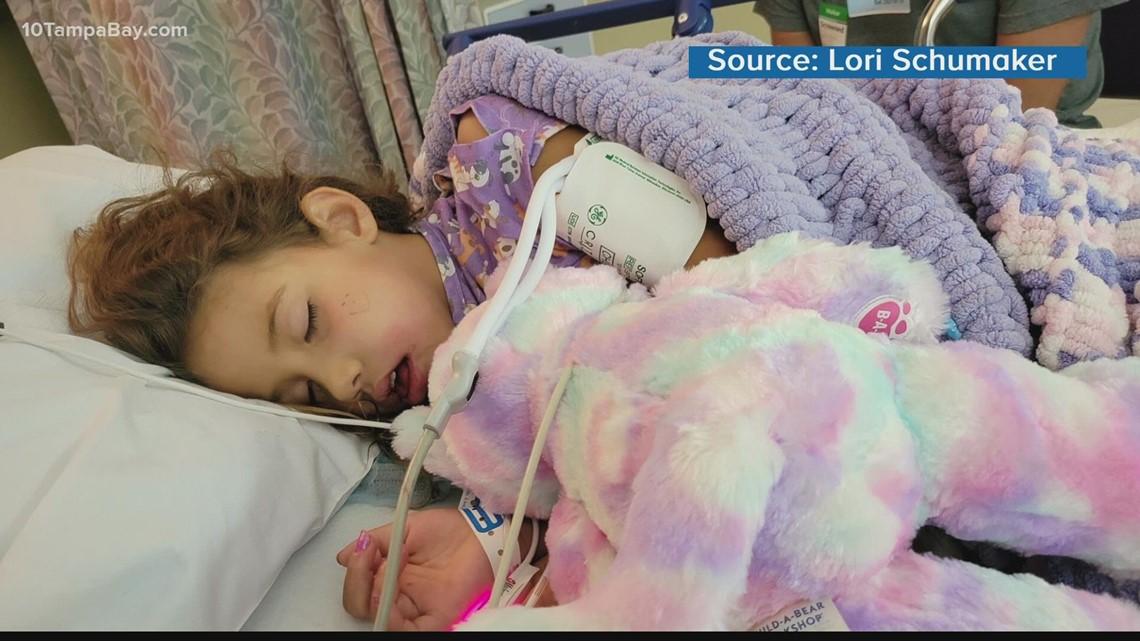 'It's Aubrey Day': Bradenton elementary school goes purple for girl with rare cancer