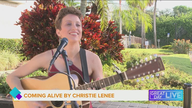 World-renowned guitarist Christie Lenée performs
