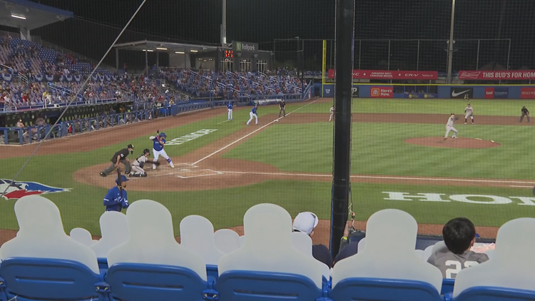 Dunedin finding success pinch-hitting for the city of Toronto