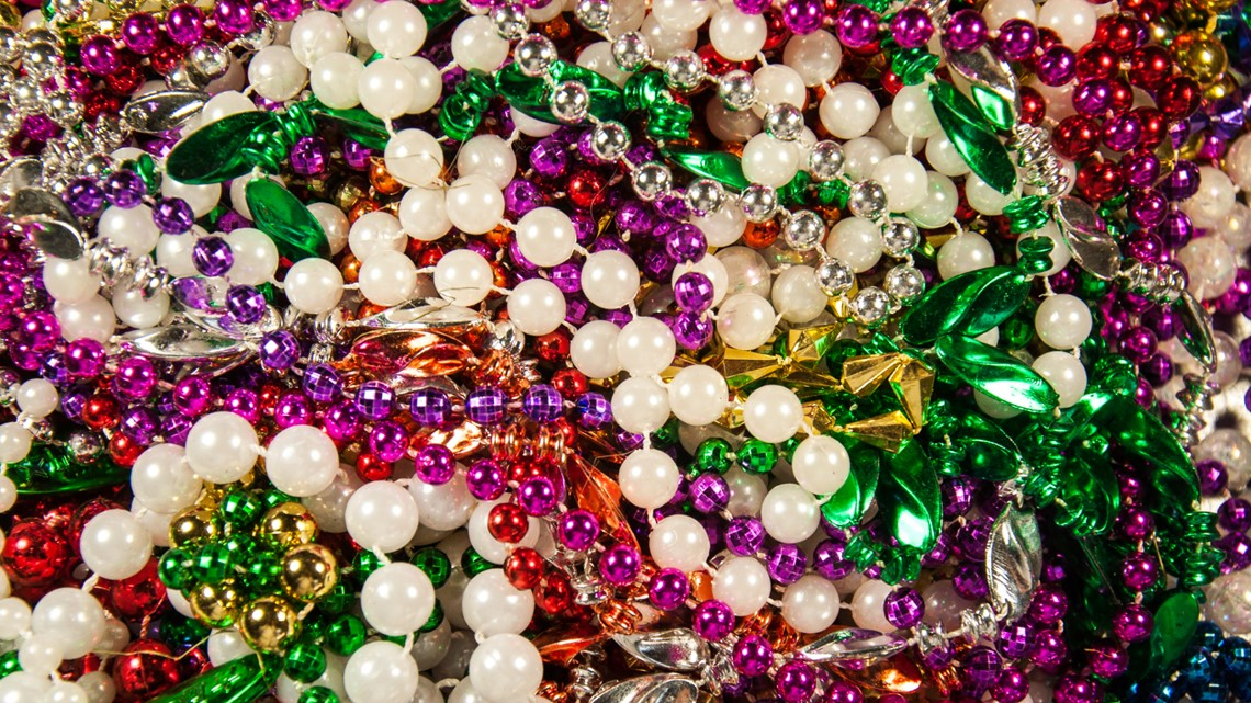 Need to recycle your Gasparilla beads? Thirty pounds gets you into the Florida Aquarium for free
