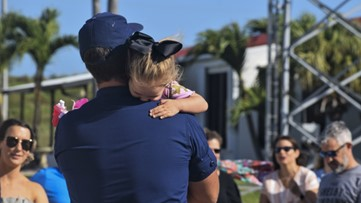 Coast Guard crew returns home from 55-day counter-drug patrol