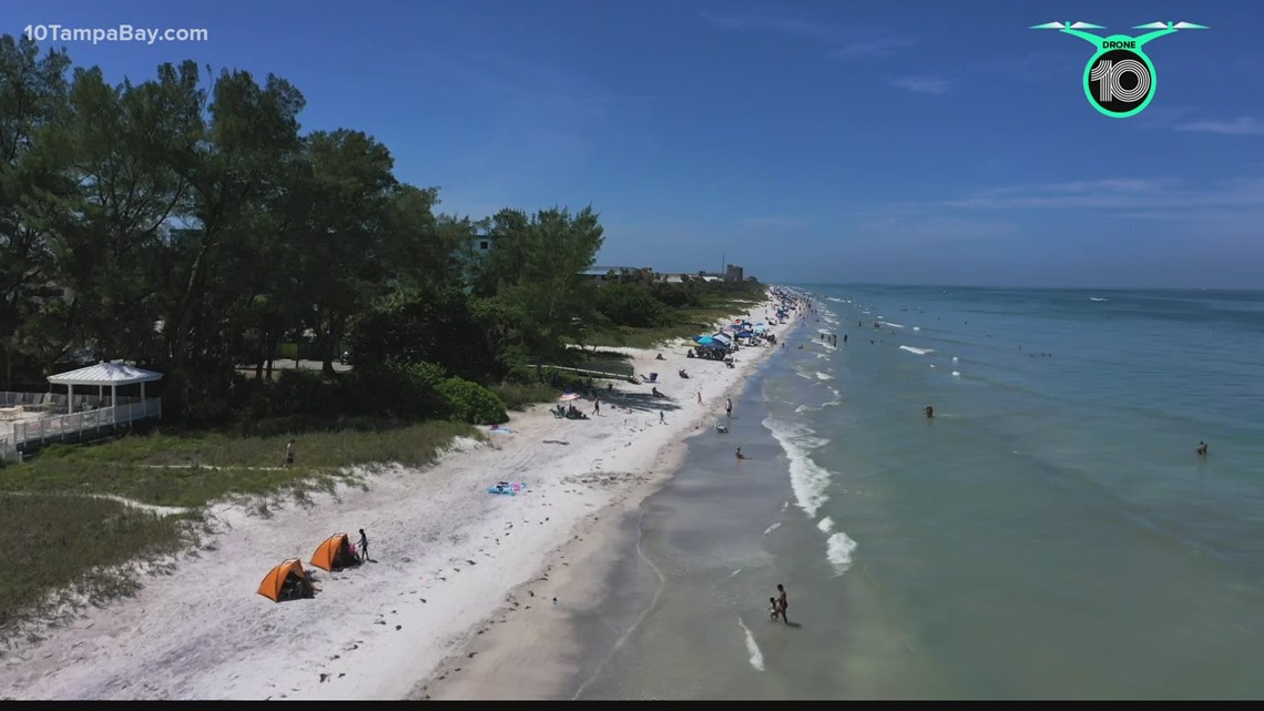 About half of Indian Rocks Beach eroded after Elsa