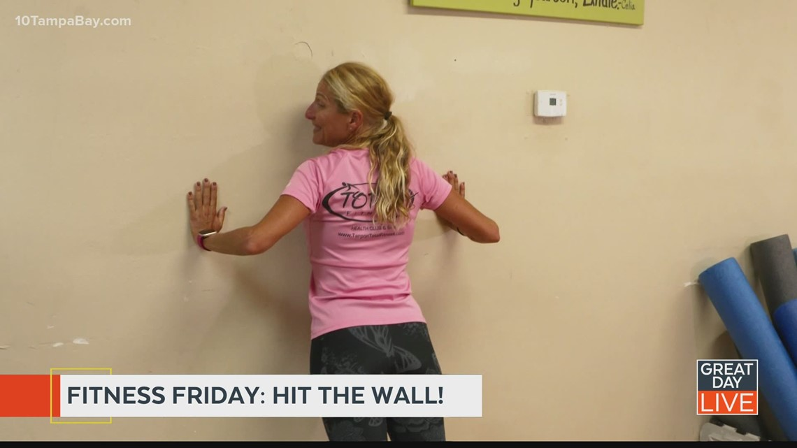 Fitness Friday: Hit the wall