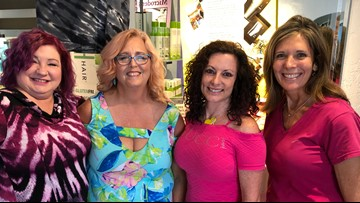 Pink-A-Thon tradition honors co-worker and impacts cancer fighters