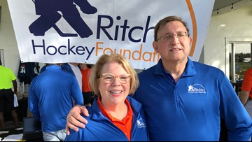 Family foundation builds college futures off lost son's passion for hockey