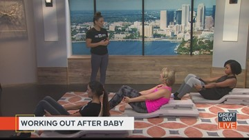 Fitness Friday: effective post-partum workout