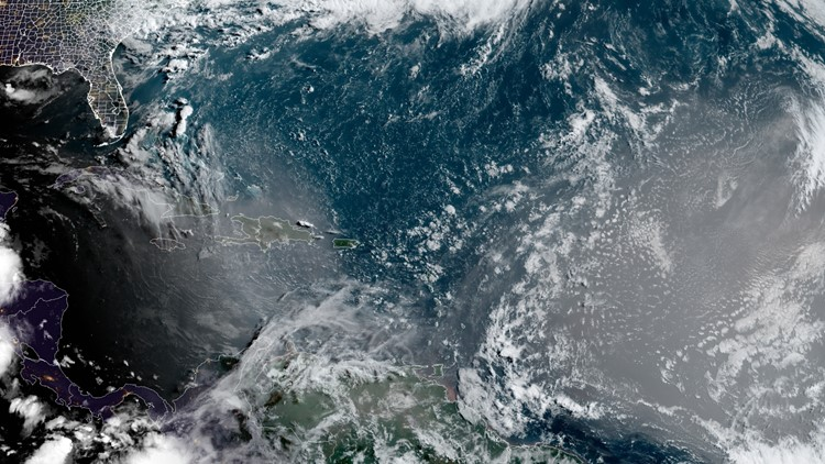 Picture perfect: Saharan dust cloud to touch off stellar Florida sunrises, sunsets