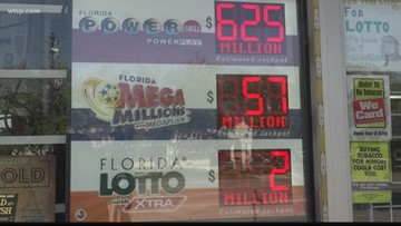 Powerball results: 2 Florida residents become millionaires | 10News WTSP