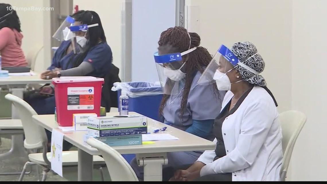 Public health workers seek reasons for sudden steep drop in those seeking vaccine
